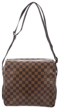 Louis Vuitton Damier Ebene Naviglio Messenger Bag