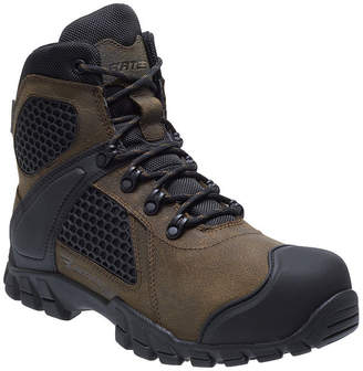 BATES Bates Mens Shock Fx Work Boots Waterproof Slip Resistant Lace-up