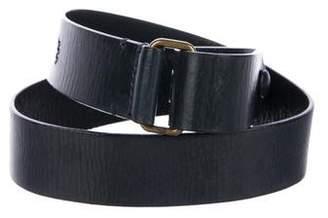 Marc Jacobs Leather Snap Belt