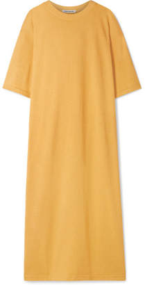 Elizabeth and James Crawford Oversized Cotton-blend Terry Midi Dress - Marigold