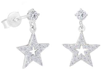 838c9122a Marc Jacobs The Love Silver Collection Sterling Silver Cubic Zirconia Star  Drop Stud Earrings
