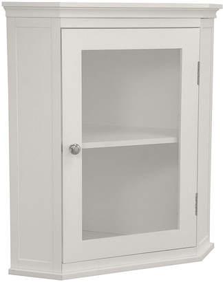 Asstd National Brand Sutton Bathroom Corner Wall Cabinet