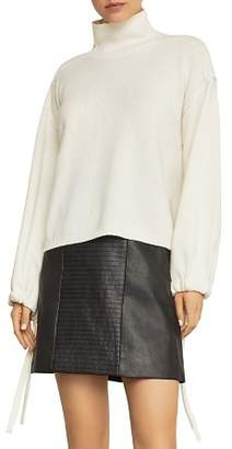 BCBGMAXAZRIA Bishop-Sleeve Sweater