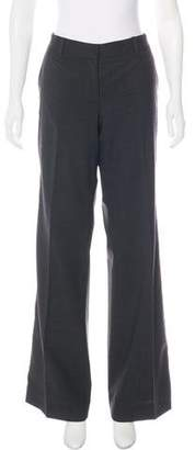 Tory Burch Mid-Rise Wool Pants