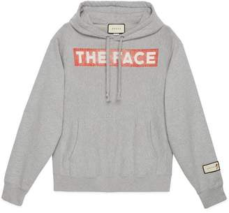 Gucci Hooded sweatshirt with The Face