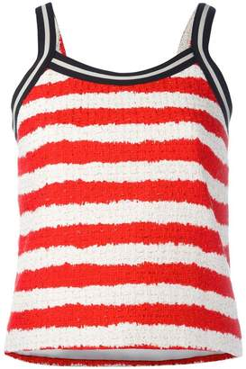 MSGM striped top