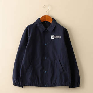 United Arrows Green Label Relaxing (ユナイテッド アローズ グリーン レーベル リラクシング) - green label relaxing 【ジュニア】ロゴプリントコーチジャケット
