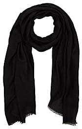 Barneys New York MEN'S SELF-FRINGED TWILL SCARF