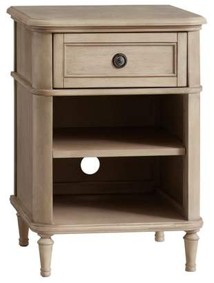 Pottery Barn Teen Colette Bedside Table, Washed Sand