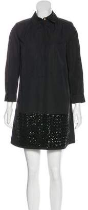 Louis Vuitton Embellished Shift Dress