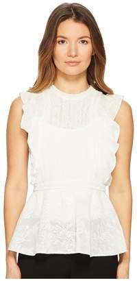 M Missoni Ruffle Lace Top Women's Clothing