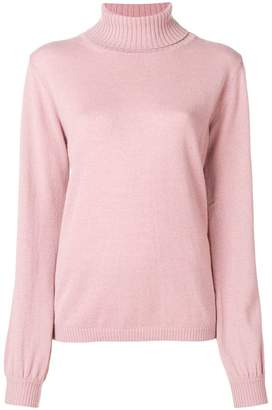 Fine Edge roll-neck sweater