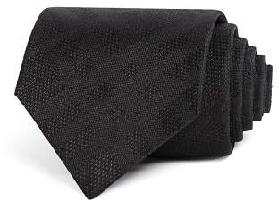 Burberry Clinton Tonal-Check Silk Classic Tie