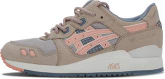 Asics Gel Lyte 3 'Flamingo' - Grey/Salmon