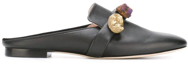 Christopher KaneChristopher Kane gem baboush slippers