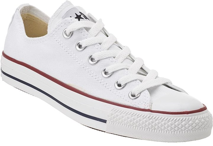 CONVERSE WOMEN'S Chuck Taylor All-Star Optical White