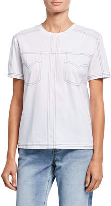 CAARA Business Casual Short Sleeve Top