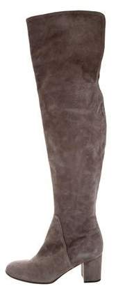 Barneys New York Barney's New York Suede Over-The-Knee Boots
