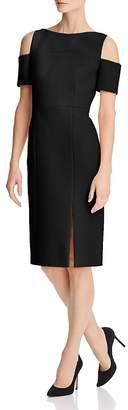 BOSS Denaka Cutout-Shoulder Sheath Dress