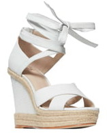 Paige Talia Wedge Ankle Wrap Sandal