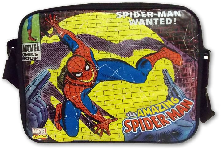 Marvel Comics Close-Up Spider-Man Messenger Bag