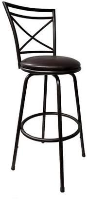 Winston Porter Adrienne Adjustable Height Swivel Bar Stool