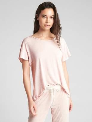 Gap Print Flutter Sleeve T-Shirt