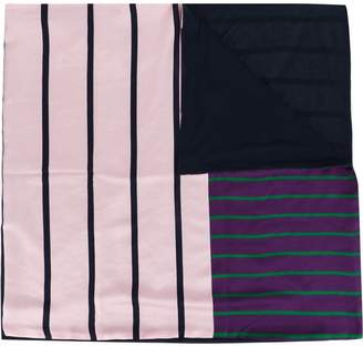 Pierre Louis Mascia Pierre-Louis Mascia stripe panel scarf