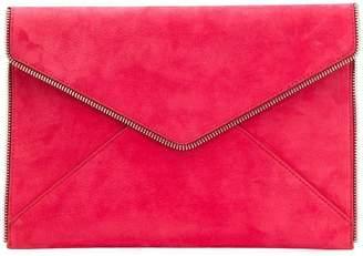 Rebecca Minkoff envelope zipper trim wallet