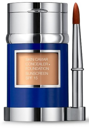 La Prairie 'Skin Caviar' Concealer + Foundation Sunscreen Spf 15 - Creme Peche $225 thestylecure.com
