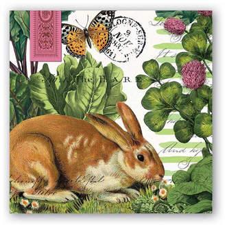 Michel Design Works Garden Bunny Napkin
