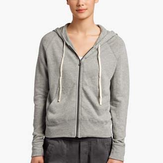James Perse Vintage Fleece Long Sleeve Hoodie