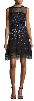 Elie Tahari Fatimah Embellished Silk Organza Dress $698 thestylecure.com
