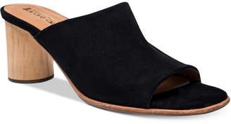 Andre Assous Diem Suede Mules Women's Shoes $195 thestylecure.com