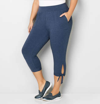 Avenue Side Knot French Terry Capri