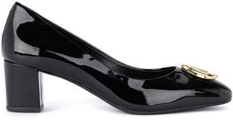 Michael Kors Dora Black Patent Leather Decollete