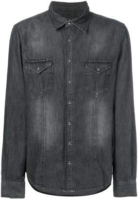 Philipp Plein Counting denim shirt
