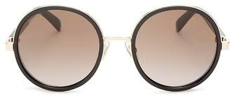 Jimmy Choo Andie Round Sunglasses, 53mm