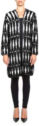 Lanvin Lurex Knit Coat