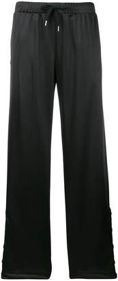 Versace track palazzo trousers