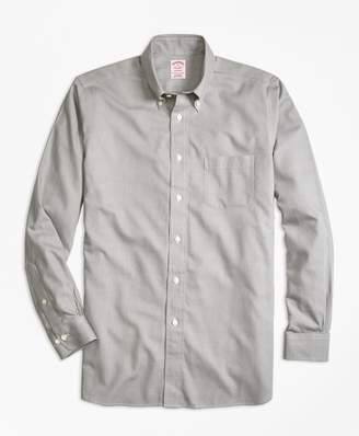 Brooks Brothers Madison Fit Cotton Cashmere Glen Plaid Sport Shirt