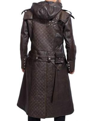 Frye Classic Outfitters Jacob Assassin's Creed Syndicate Leather Trench Coat