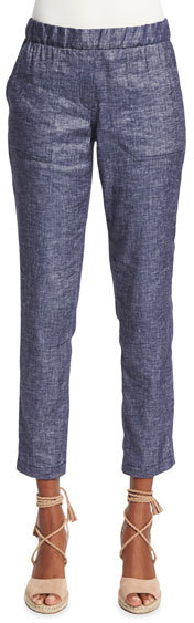 Theory Theory Northsound Tierra Washed Denim Pants