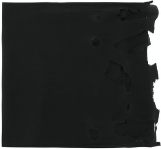 Maison Margiela Pre-Owned 1990's distressed scarf