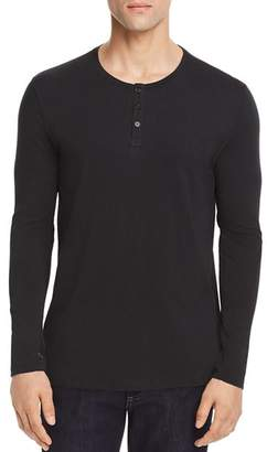 ATM Anthony Thomas Melillo Long Sleeve Henley - 100% Exclusive