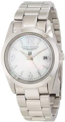 Mother of Pearl River Woods Women's RW 3 L WPD SS Mother-of-pearl Watch