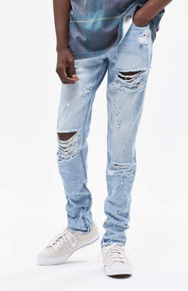 Young & Reckless Lancaster Ripped Tapered Jeans