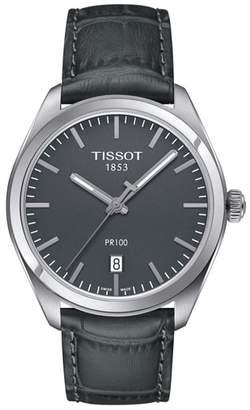 Tissot 1853 Leather Strap Watch, 39mm