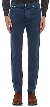 Isaia Men's Slim Jeans - Navy