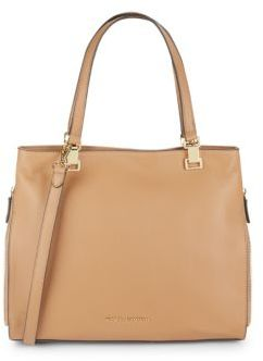 Top Handle Leather Tote